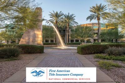 First American Title Insurance Co. Continues Their Stay at the Beautiful Pinnacle in Kierland I