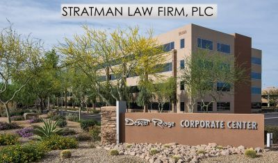 Stratman Law Firm, PLC Moves Their Home to the Beautiful Desert Ridge Corporate Center I