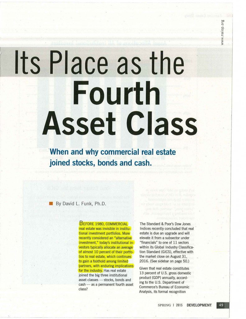 RE Takes Its Place as the Fourth Asset Class_Page_2